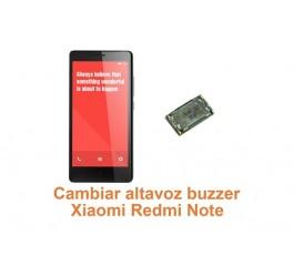 Cambiar altavoz buzzer Xiaomi Redmi Note