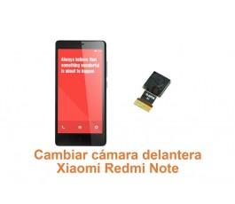 Cambiar cámara delantera Xiaomi Redmi Note