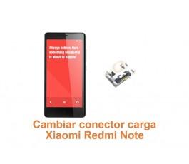 Cambiar conector carga Xiaomi Redmi Note