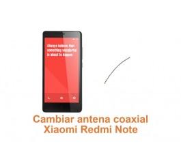 Cambiar antena coaxial Xiaomi Redmi Note