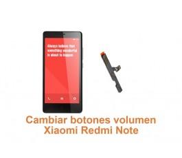 Cambiar botones volumen Xiaomi Redmi Note