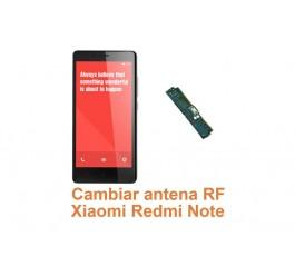 Cambiar antena RF Xiaomi Redmi Note