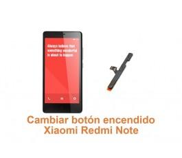 Cambiar botón encendido Xiaomi Redmi Note