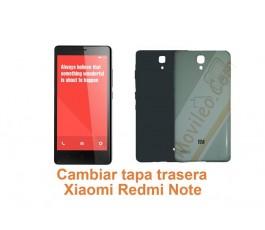 Cambiar tapa trasera Xiaomi Redmi Note