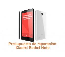 Presupuesto de reparación Xiaomi Redmi Note