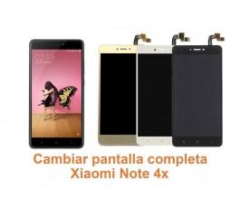 Cambiar pantalla completa Xiaomi Note 4x