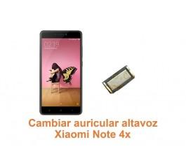 Cambiar auricular altavoz Xiaomi Note 4x
