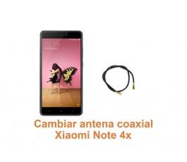 Cambiar antena coaxial Xiaomi Note 4x