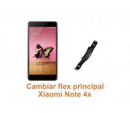 Cambiar flex principal Xiaomi Note 4x