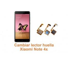 Cambiar lector huella Xiaomi Note 4x