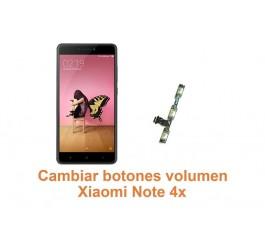 Cambiar botones volumen Xiaomi Note 4x