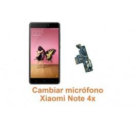 Cambiar micrófono Xiaomi Note 4x