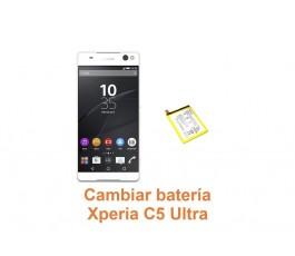 Cambiar batería Xperia C5 Ultra