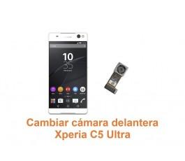 Cambiar cámara delantera Xperia C5 Ultra
