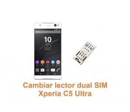 Cambiar lector dual SIM Xperia C5 Ultra