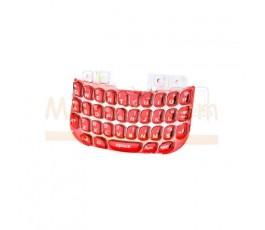 Teclado Rojo para BlackBerry Curve 8520 - Imagen 1