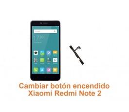 Cambiar botón encendido Xiaomi Redmi Note 2