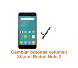 Cambiar botones volumen Xiaomi Redmi Note 2