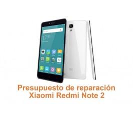 Presupuesto de reparación Xiaomi Redmi Note 2