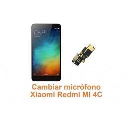 Cambiar micrófono Xiaomi Redmi MI 4C