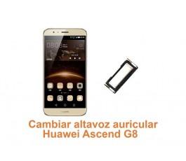 Cambiar  altavoz auricular Huawei G8 Ascend