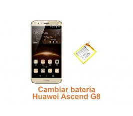 Cambiar batería Huawei G8 Ascend