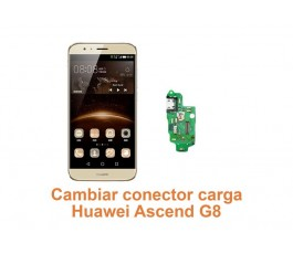 Cambiar conector carga Huawei G8 Ascend