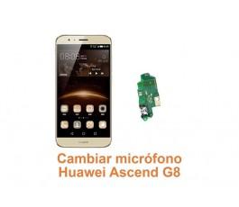 Cambiar micrófono Huawei G8 Ascend
