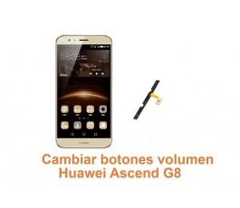 Cambiar botones volumen Huawei G8 Ascend