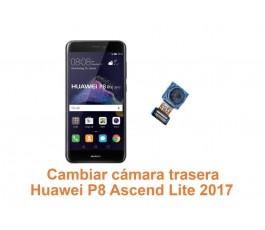 Cambiar cámara trasera Huawei Ascend P8 Lite 2017
