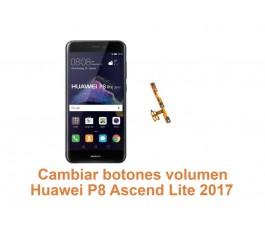 Cambiar botones volumen Huawei Ascend P8 Lite 2017