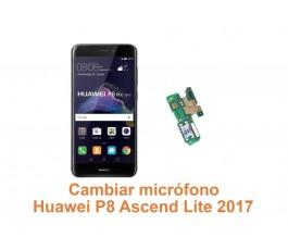 Cambiar micrófono Huawei Ascend P8 Lite 2017
