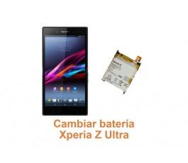 Cambiar batería Xperia Z Ultra