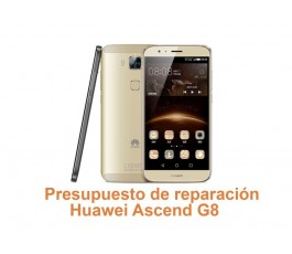 Presupuesto de reparación Huawei G8 Ascend
