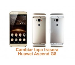 Cambiar tapa trasera Huawei G8 Ascend