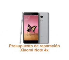 Presupuesto de reparación Xiaomi Note 4x