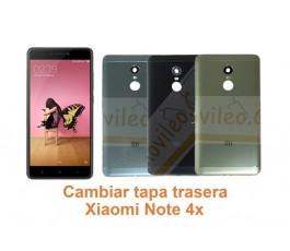 Cambiar tapa trasera Xiaomi Note 4x