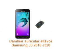 Cambiar auricular altavoz Samsung Galaxy J3 2016 J320
