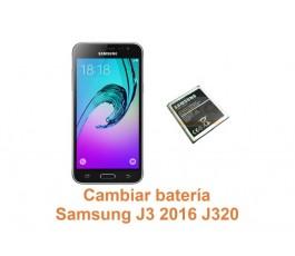 Cambiar batería Samsung Galaxy J3 2016 J320