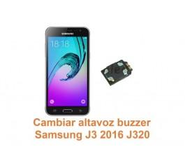 Cambiar altavoz buzzer Samsung Galaxy J3 2016 J320