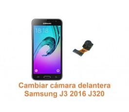 Cambiar cámara delantera Samsung Galaxy J3 2016 J320