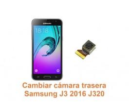 Cambiar cámara trasera Samsung Galaxy J3 2016 J320