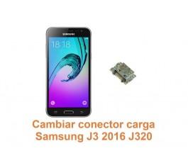 Cambiar conector carga Samsung Galaxy J3 2016 J320