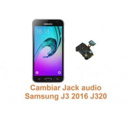 Cambiar Jack audio Samsung Galaxy J3 2016 J320
