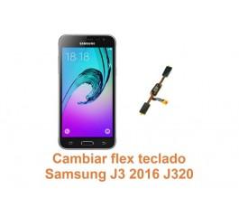 Cambiar flex teclado Samsung Galaxy J3 2016 J320