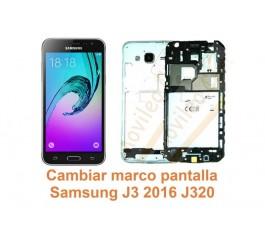 Cambiar marco pantalla Samsung Galaxy J3 2016 J320