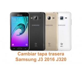 Cambiar tapa trasera Samsung Galaxy J3 2016 J320