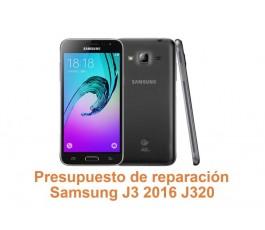 Presupuesto de reparación Samsung Galaxy J3 2016 J320