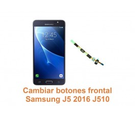 Cambiar botones frontal Samsung Galaxy J5 2016 J510