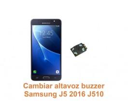 Cambiar altavoz buzzer Samsung Galaxy J5 2016 J510